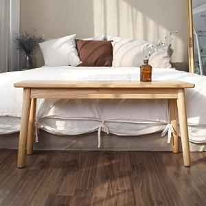 [홈앤하우스] 팀버에이치 고무나무 벤치의자