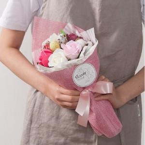 마린비누장미꽃다발 33cmP4(전구포함)