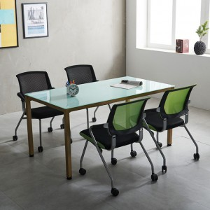 1200 몬드 테이블세트 철제 4인용 사무실 회의용 국산