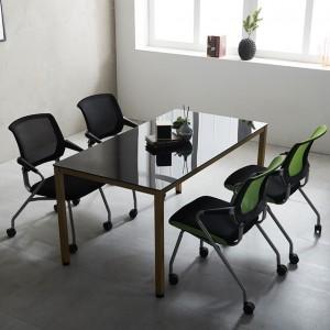 1500 몬드 테이블 철제책상 4인 사무실 회의용 국내산