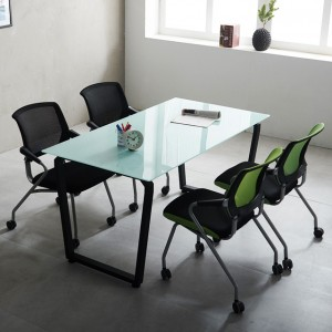 1200 다이아 테이블 국산 4인미팅 사무용 책상 회의용