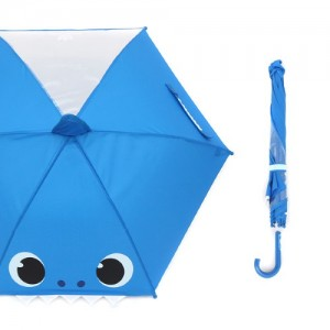 [오키즈]핑크퐁 40 우산 [아빠상어페이스 한폭 POE-10009] [M0096]