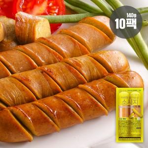 카레맛 닭가슴살 소시지 1.4kg