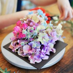 베이직 꽃꽂이 취미반 [정규클래스][피움] 성인취미 판교 꽃집