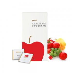 천연 과일채소세정제 에코파우더 100g (1g-100개입)