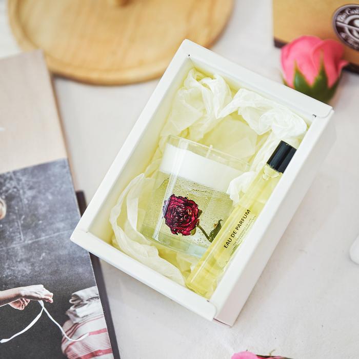 롤온 향수+로즈 캔들만들기 원데이클래스