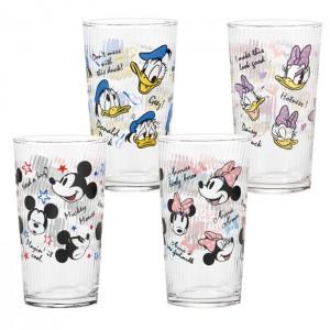 나루미 디즈니 시리즈 컵  4종 세트 미키 미니 도널드 데이지 300 ml