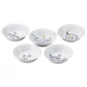 나루미 디즈니 시리즈 접시 5종세트 17cm