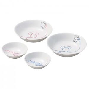 나루미 디즈니 시리즈 미키미니 접시 4종세트