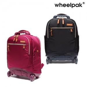 휠팩_뉴클래식 확장형 캐리어백팩 여행가방 학생가방