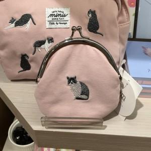 ROPE PICNIC 미니즈아미 똑딱이 고양이 코인지갑 파우치