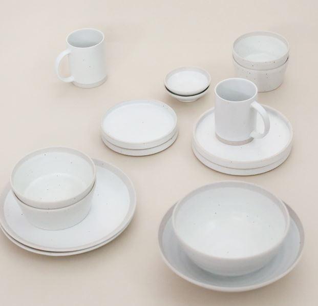 산도 2인 식기세트 혼수 선물세트 신혼그릇  (3color)