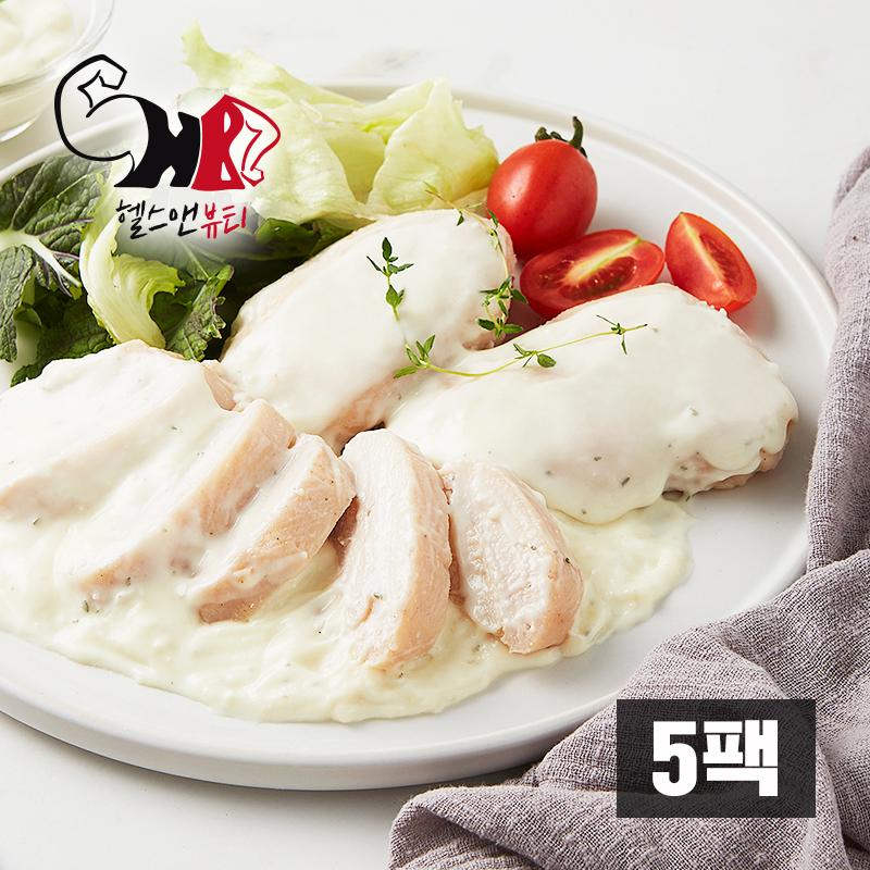 더 부드러운 닭가슴살 스노우크림 5팩