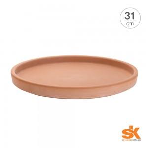 [S.K Since 1893] 테라코타 독일토분 화분받침대 라운드 소서(31cm)