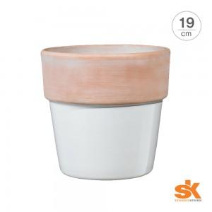 [S.K Since 1893] 독일 명품 세라믹 도자기화분 리스본(19cm)